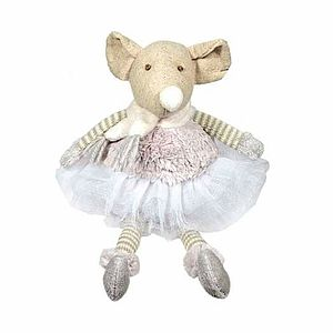Ballerina Fairy Mouse - soft toys & dolls