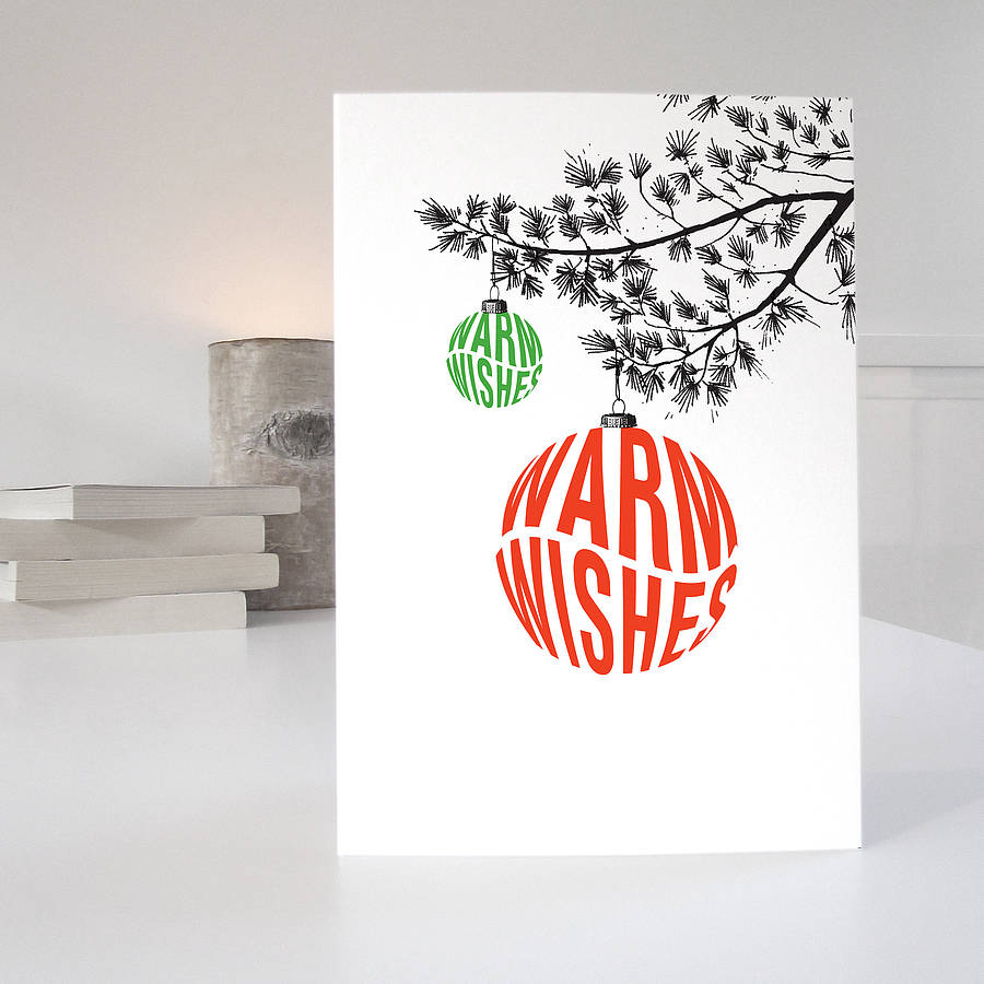 christmas cards in a pack of five retro designs by purpose ...