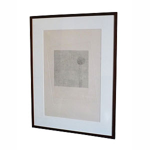 Framed Penal Colony Ix Print - contemporary art
