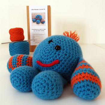 Little Monster Learn To Crochet Kit