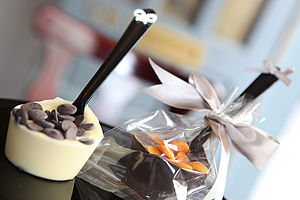 Hot Chocolate Spoon Pack Of Three Spoons - wedding favours