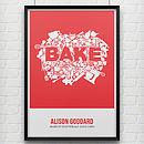 'Bake' Print