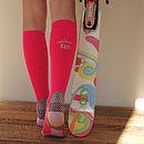 Personalised Ski, Snowboard Socks