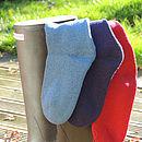 Personalised Welly Boot, Wool Socks