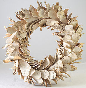 Birch Wreath - flowers & plants