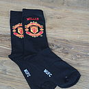 Personalised Football Team Socks