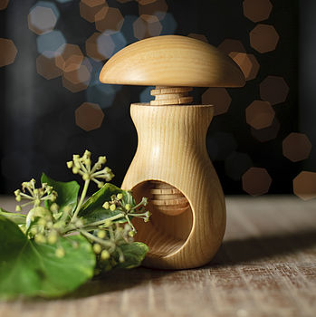 Nordic Natural Wood Nut Cracker