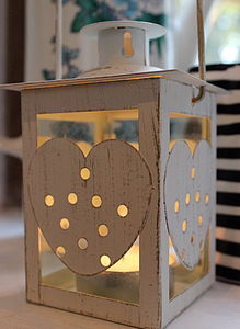 Shining Heart Lantern - outdoor lights & lanterns