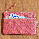 Purse With Pocket In Tangle Print