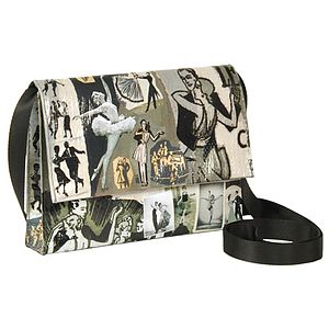 Q Dance Crossbody Bag - bags & purses