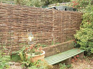 Hazel Hurdle - garden furniture