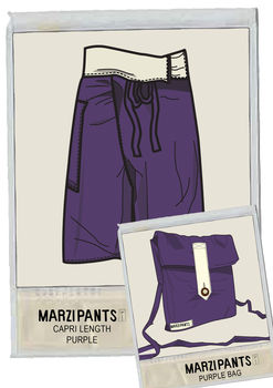 Capri Style Trousers For Yoga Wear