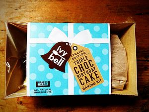 Birthday Cake 'Bake In The Box' Kit - cakes & treats