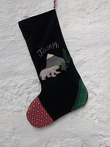 Childrens Personalised Christmas Stocking