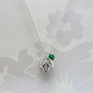 Triple Bud Pendant - necklaces & pendants