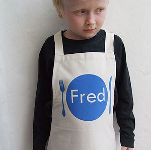 Personalised Boys Apron - cooking & food preparation