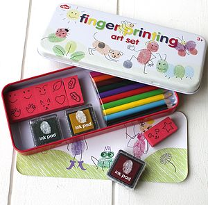 Finger Printing Art Sets - view all gifts for babies & children