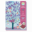 enchanting trees ink stamp set