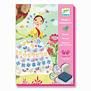 flower maidens ink stamp sets