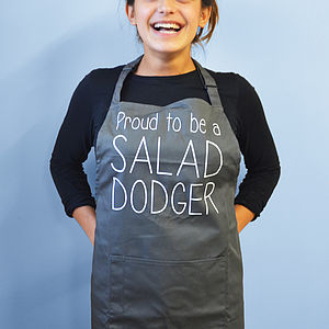 'Proud To Be A Salad Dodger' Apron