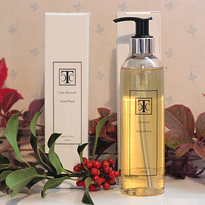 Lime Blossom Or Tuberose Handwash - bath & body