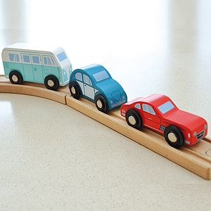 Train Track Compatible Classic Vehicles - cars & trains
