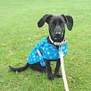 MacPAWS Blue Dog Rain Coat
