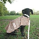 MacPAWS Tan Dog Rain Coat