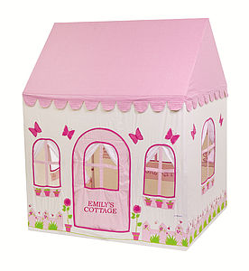 Personalised Rose Cottage Playhouse - tents, dens & wigwams