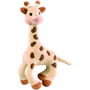 Sophie Giraffe Soft Toy Rattle - soft toys & dolls