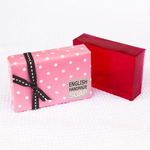 Handmade English Rose Soap Bar - bath & body
