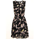 Finch Dress Black