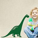 Brontosaurus Dinosaur Wall Sticker