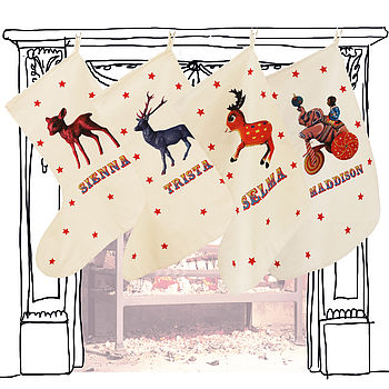 Circus Christmas Stocking