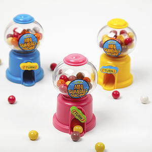 Mini Gumball Machine - sweet treats