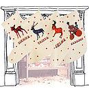 Circus Inspired Christmas Stocking
