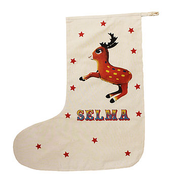 Circus Inspired Christmas Stocking