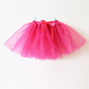 Net And Ribbon Tutu - for children
