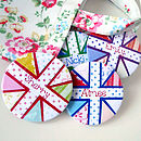 Personalised Union Jack Compact Mirror