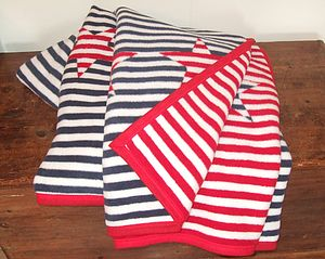Stars And Stripes Blanket - throws, blankets & fabric