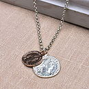 Double Coin Necklace