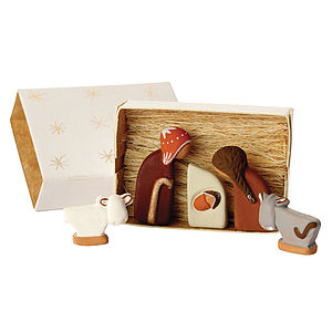 Miniature Nativity - nativity scenes & table-top figures
