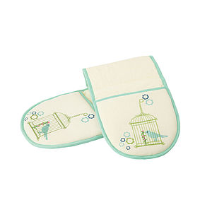 Birds Oven Gloves