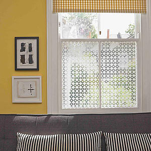Trellis Decorative Window Film - furnishings & fittings