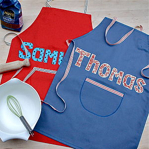Personalised Boy's Apron - aprons