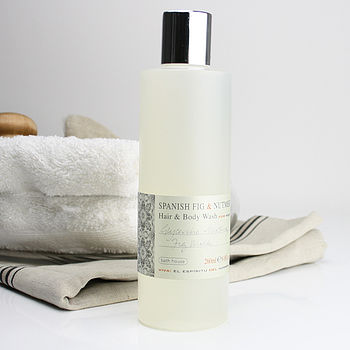 Men's Spanish Fig Hair And Body Wash