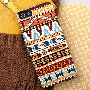 Aztec Print Design For iPhone Or Samsung - bags & purses