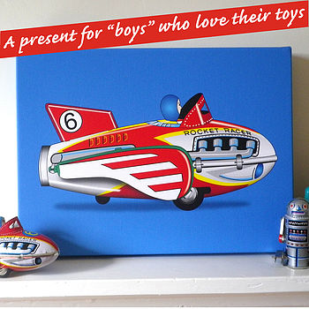 Toys Art Canvas Print