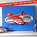 Toys Art Canvas Print