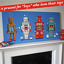 Four Robots Canvas Print